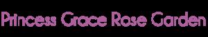 Logo Roseraie Princesse Grace